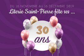 Prêt(es) pour l'anniversaire Literie Saint-Pierre ?