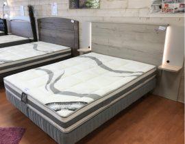 Tête de lit avec prise USB et led