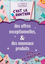 Read more about the article Offres de rentrée !