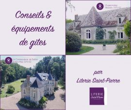 Read more about the article Deux gites équipés par Literie Saint-Pierre !