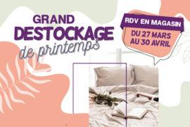 Read more about the article Destockage literie : le printemps s'invite chez Literie Saint-Pierre