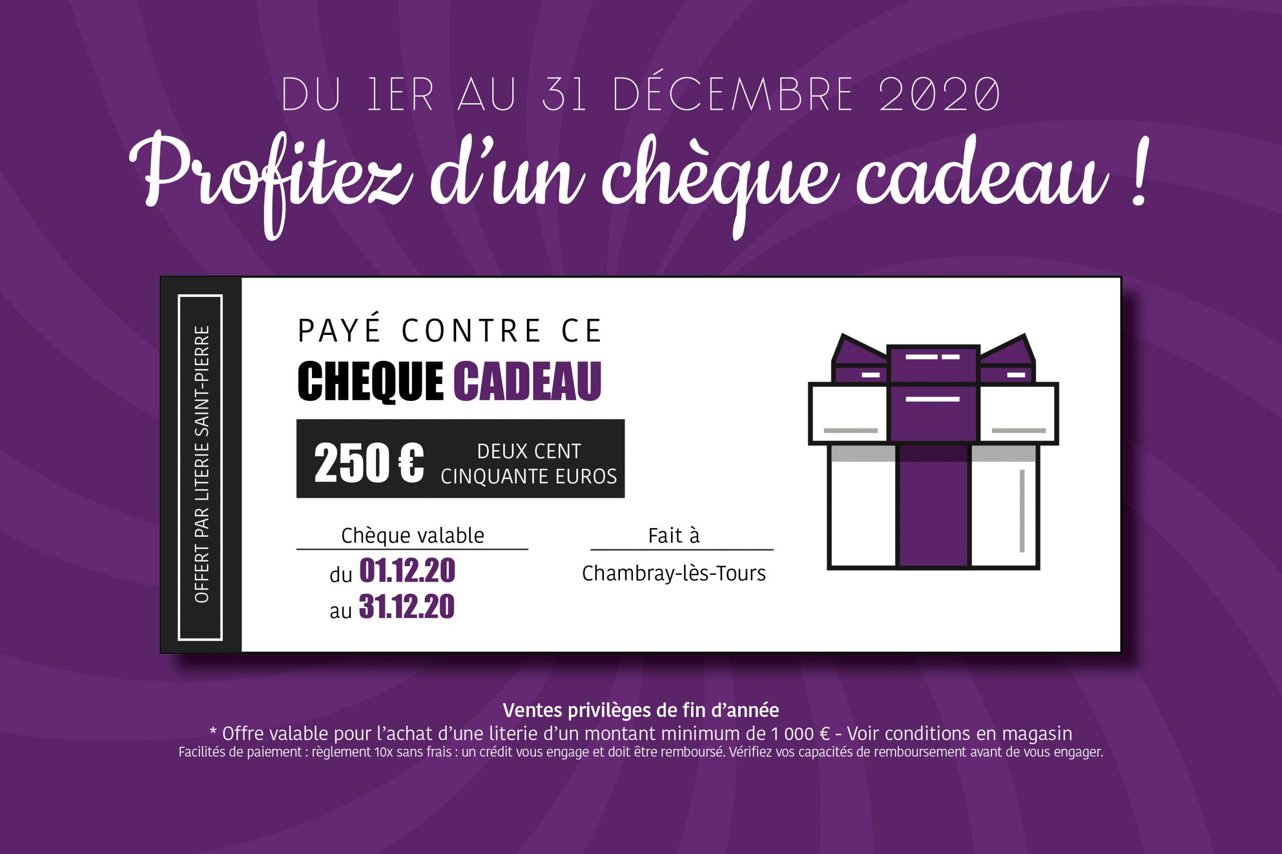 You are currently viewing L'offre Literie Saint-Pierre de fin d'année en chèque cadeau !